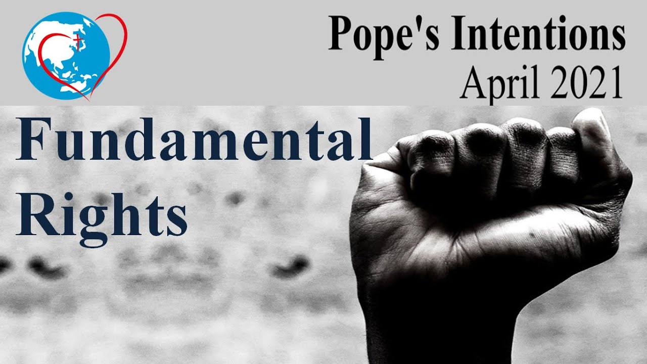 Pope's Intention April 2021